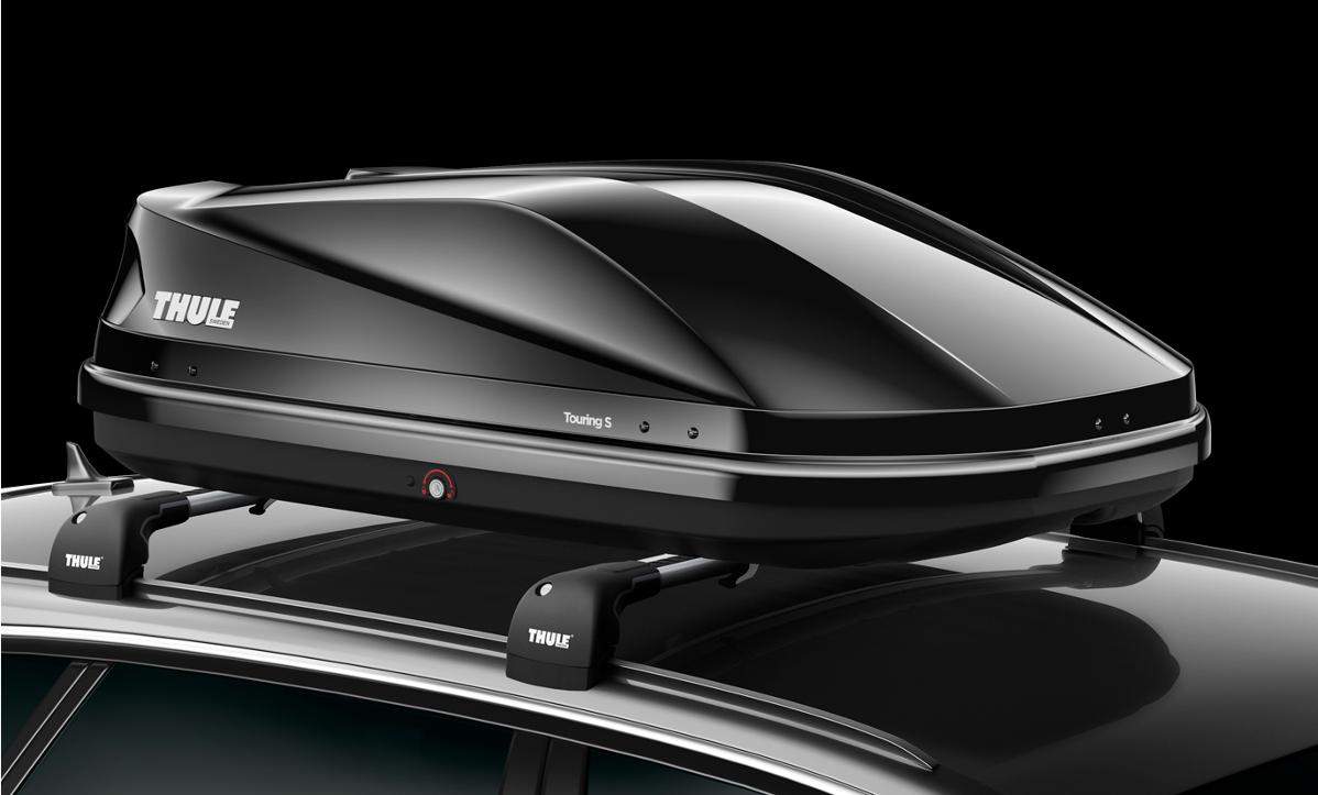 cofre de techo thule touring s 100 negro brillante. Black Bedroom Furniture Sets. Home Design Ideas