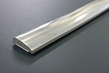 Metros de moldura cromada de 13,8x3mm (anchxalt)