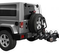 Adaptador para acoplar VeloCompact a coches con rueda externa de recambio THULE 9241