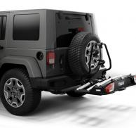Adaptador THULE 9394 de VeloSpace XT 3 para acoplarlo a vehiculos con ruedas externas.