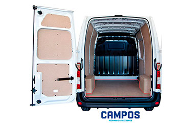 Paneles laterales interiores para furgoneta en DM TOYOTA PROACE CITY 20 -> 2975 XL  L2-H1 DOS P.L.C., LATERAL COMPLETO, PARTE SUPERIOR DEL VEHÍCULO