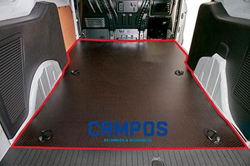 Suelo para furgoneta contrachapado marrón de abedul finlandés TOYOTA PROACE CITY  20 -> L2 2975 XL SIN, CON, DOS P.L.C.,