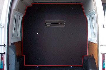 Separador de carga para furgoneta de contrachapado marrón de abedul RENAULT TRAFIC 14-> L1L2-H1 P.L.C., PTAS. TRASERAS, SEPARADOR DE CARGA 1 POSICION