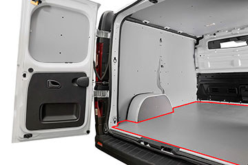 Suelo para furgoneta contrachapado gris de abedul finlandés TOYOTA PROACE CITY  20 -> L2 2975 XL SIN, CON, DOS P.L.C.,