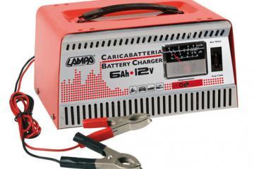 Cargador de batería 12V-6Ah