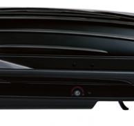 Cofre de techo THULE Excellence XT negro brillante/gris titanio metalizado