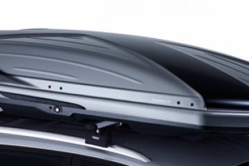Cofre de techo THULE Excellence XT  gris titanio metalizado/Negro brillante