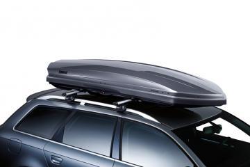 Cofre de techo THULE DYNAMIC L 900 gris titanio brillante