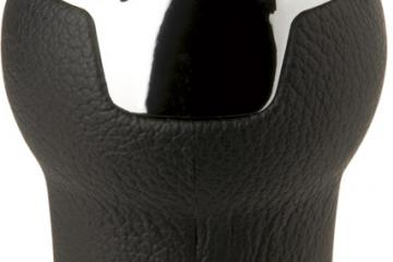 Pomo aluminio/piel DIAMOND CARRERA para coches con y sin gatillo