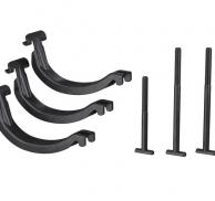 Adaptador para ajustar portabicicletas a barras cuadradas THULE Bike Rack Around-The-Bar Adapter 8898