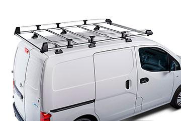 Barras portaequipajes CRUZ Evo Rack Alu Module para furgoneta