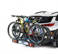 Portabicicletas para bola de remolque Cruz Pivot 3 bicicletas