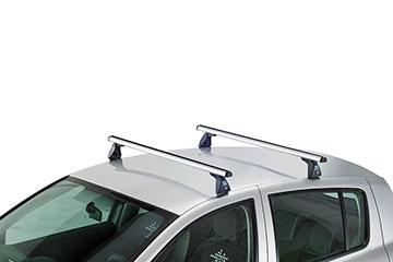 Barras de techo en aluminio Cruz Alu-S para coche