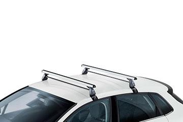 Barras de techo en aluminio Cruz Alu-T para coche