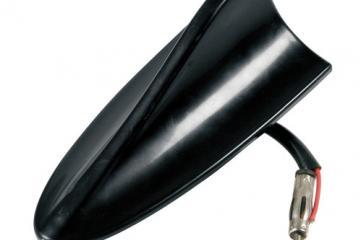 Antena tipo aleta de tiburón, funcional y amplificada