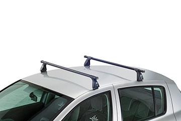 Barras de techo en acero CRUZ OS para coche