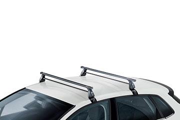 Barras de techo en acero CRUZ OT para coche