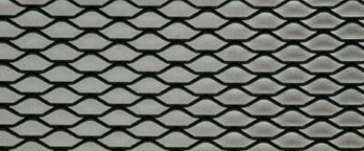 Rejilla en negro 100cm X 33cm