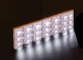 Panel 24 leds interior de luz blanca (65x35mm)