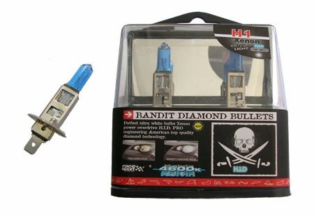 Juego 2 lámparas BANDIT DIAMOND H1