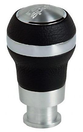 Pomo aluminio/piel TORQUE