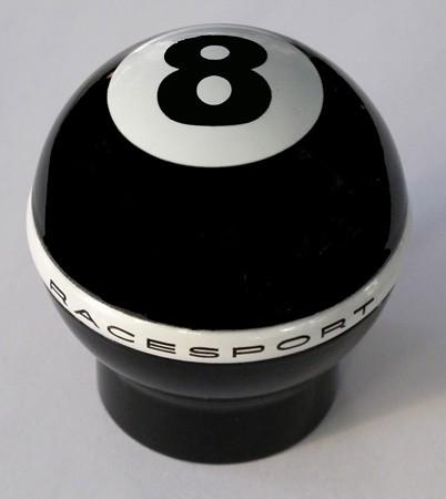 """Pomo aluminio pintado """"8"""" para gatillo de marcha atrás"""