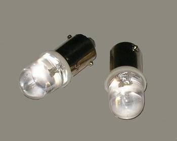 Juego 2 lámparas con casquillo led blanca