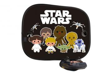 Juego parasoles laterales Star Wars
