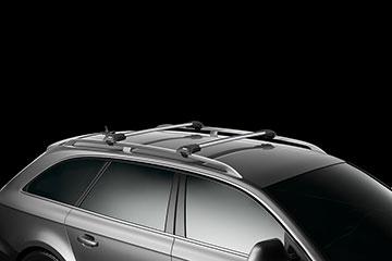 Barras de techo en aluminio Thule WingBar Edge para coche 9582