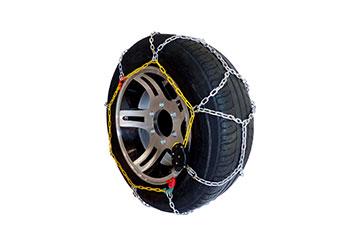 Juego de cadenas de nieve en acero de 12mm para SUV y furgonetas Ideal TR SUV 212SP3