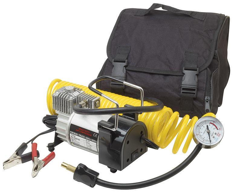 Compresor de aire con un cilindro 12V 45l/min