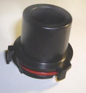Juego adaptadores para lámpara kit xenón no original Opel Astra G 98-04