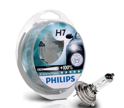 Juego 2 lámparas PHILIPS XtremeVision H-7